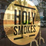 HOLY SMOKES - Gold reflective & black vinyl