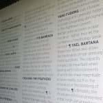 STEVENSON - Vinyl text applied to 4m wall