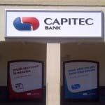 CAPITEC BANK - Digitally printed graphics with a clear laminate