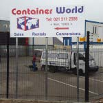 Container World - Steel Billboard