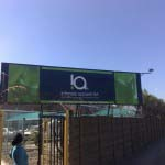 INTIMATE APAREL - Vinyl graphics applied to billboard