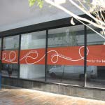WOOLWORTHS - Digitally printed self adhesive vinyl applied to glass window