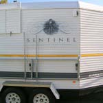 Sentinel - Digital graphics applied to Horse Box