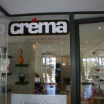 CREMA - Vinyl applied to glass