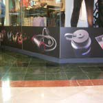 CAPE STORM - Digitally printed self adhesive vinyl applied to outside of glass windows