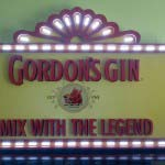 GORDONS GIN - Painted dimensional polystyrene with digital print and LED's