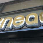 Knead - 3D Letters with Halo Illumination
