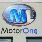 Motor One - Perspex cut out lettering with digital logo