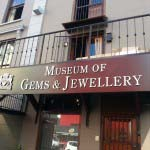 Museum of Gems - Cut out brushed Aluminium Lettering