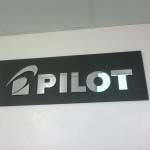 Pilot - Mirror Perspex mounted to timber backing