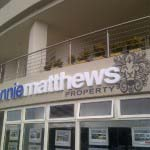 RONNIE MATTHEWS - 3D manufactured acrylic lettering