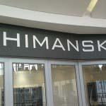 Shimansky - 10mm aluminium lettering powder-coated white