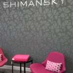 Shimansky - 10mm stainless steel lettering
