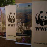WWF - Digitally printed Roller Banners
