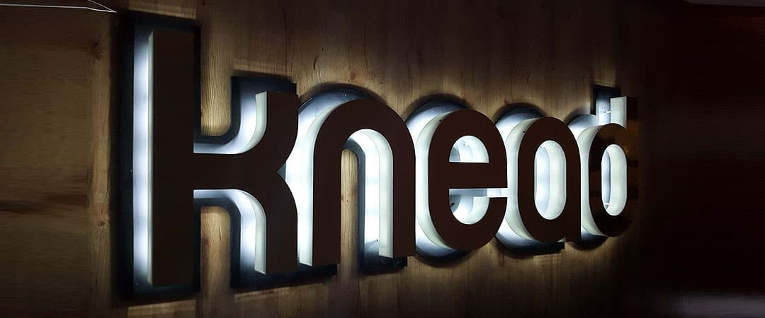 knead cut out letter