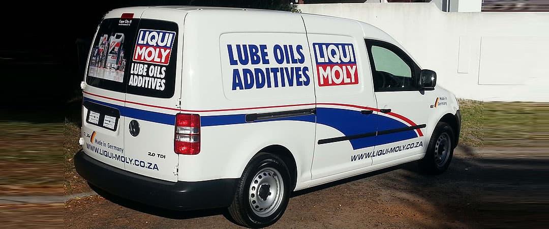 liqui moly vehicle sign