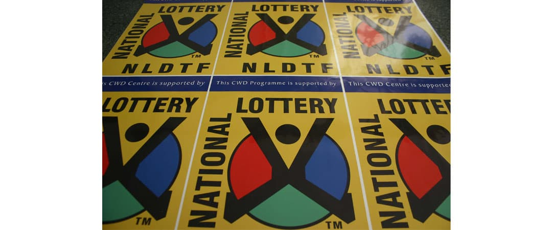 south africa lottery ticket print